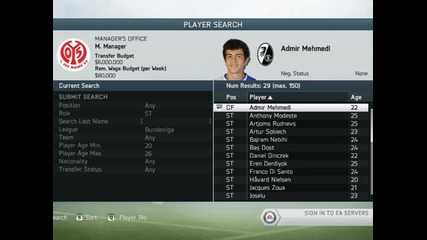 Fifa 14 Mainz 05 Manager Mode #1 Започваме!