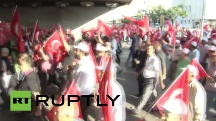 Turkey: Thousands march for national unity in Ankara