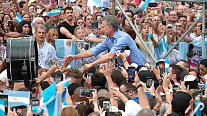 Argentina: Outgoing president Macri bids farewell to supporters
