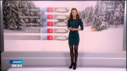 Прогноза за времето (11.12.2014 - сутрешна)