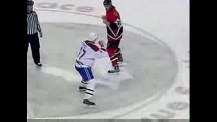 Най - Великия Бой В Историята На Хокея