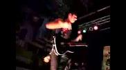Lovehatehero: K. Thrasher shredding guitar solo [live]