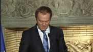 Greece: Excluding Greece from Schengen will not solve refugee crisis, says Tusk