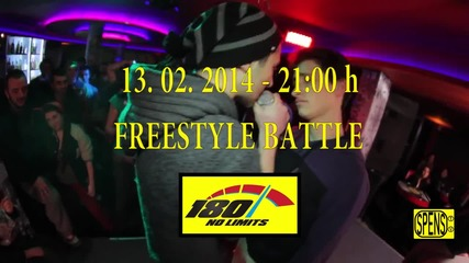 FREESTYLE BATTLE CLUB 180 WARM UP TO FBS 2 - 13.02.2014 - 21 00h 2 ver