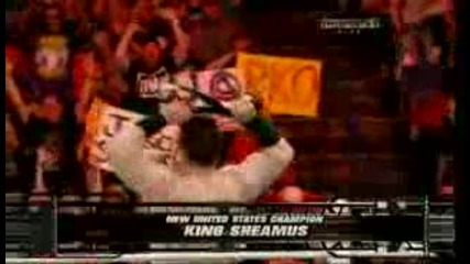 Wwe Raw 14 3 2011 - Sheamus New Wwe United States Champion