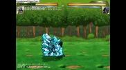 Guren vs Sasuke (guren showoff)