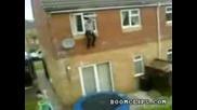 Скок върху батут