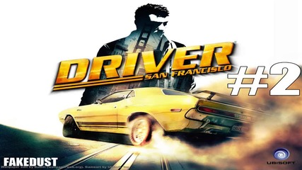 Driver San Francisco #2 - Test Ford Mustang Shelby Gt500