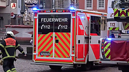 Germany: Police on site after car drives into pedestrians in Trier, killing 2