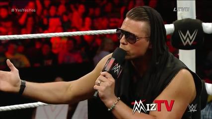 Miz Tv край с кариерата на Даниел Браян? - Elimination Chamber 2015