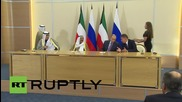 Russia: Putin and Emir of Kuwait oversee signing of bilateral agreements