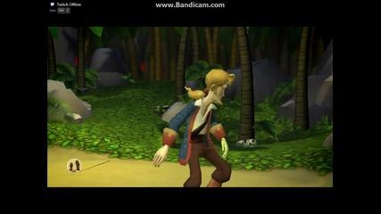 Tales of Monkey Island-part 1 Launch of the Screaming Nawhal part 2 Откриване на съкровището на Доро