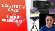 Logitech C922 - web камера със зелен екран [GplayTV S2] Ep. 37
