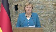 Turkey: Merkel and Erdogan hold presser after outgoing German Chancellor's final meeting in Turkey.