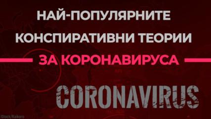 Най-популярните конспиративни теории за коронавируса