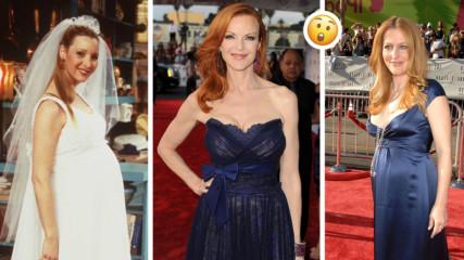 Актрисите, които изиграха най-известните си роли бременни! Без дори да разберем