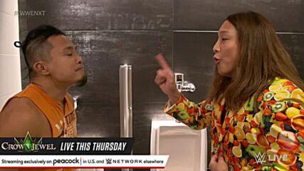Ikemen Jiro sends Kushida back to the future: WWE NXT, Oct. 19, 2021