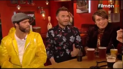 Take That - Hey Boy (live) + slip & slide and chair competitions