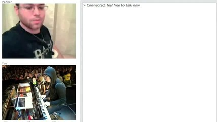 Chatroulette Piano Ode to Merton