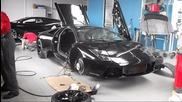 Блъснато Lamborghini Murcielago в София