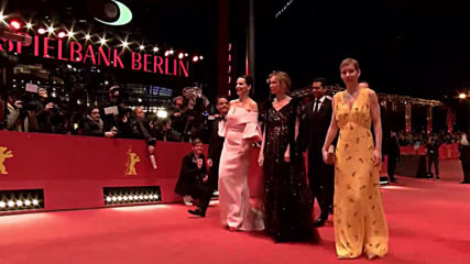 Germany: Berlinale jury arrives for award ceremony