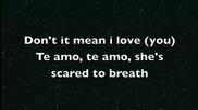 Rihanna - Te amo +текст Hq