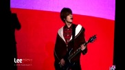 111231 Taemin playing the guitar - Lucifer Rock ver. Rehearsal