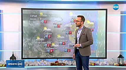 Прогноза за времето (19.12.2018 - обедна емисия)