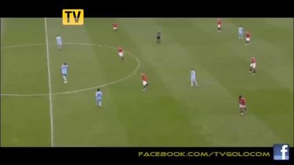 Maн Юнайтед 1-6 Ман Сити - Уникалнo Сити разгроми шампиона Юнайтед с 6-1 на Олд Трафорд