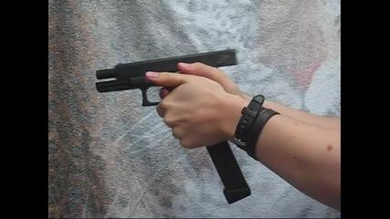 (airsoft) Glock 18c Kwa. (480p)