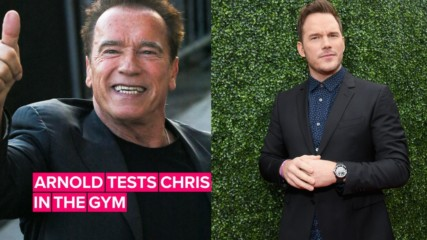 How Chris Pratt got Arnold Schwarzenegger's approval