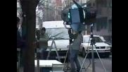 Мейкинг на реклама с участието на Тоше Проески