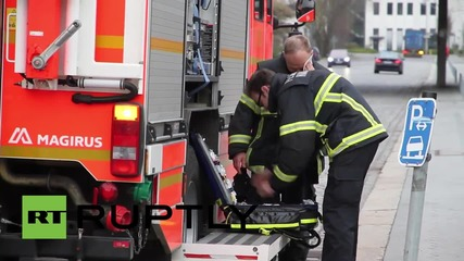 Germany: Fire breaks out at Hamburg refugee centre