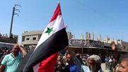 Syria: SAA raise Syrian flag in Tafas, Daraa province