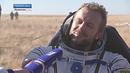 Kazakhstan: First ever film crew returns to Earth from ISS