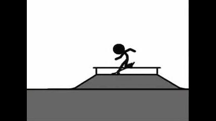Анимация - Скейт Анимация
