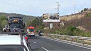 Моторист пострада при катастрофа край Симитли
