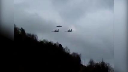 Български летци срещат НЛО в небето