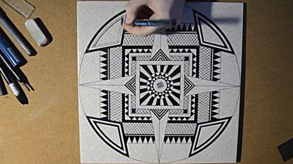 Рисуване върху плочка