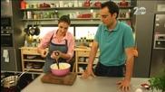 """""""Фар бретон"""" със смокини и бадеми, чушки на фурна с два вида плънка - Бон апети (07.10.2014)"""