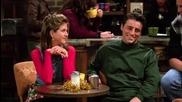 Friends / Приятели - Сезон 1 Епизод 10 - Bg Audio - | Част 2/2 |