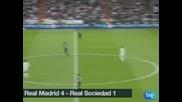 """""""Реал"""" (Мадрид) се отпуши срещу """"Сосиедад"""" за 4:1"""