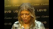 Fergie Interview At Cartier Love Charity Event
