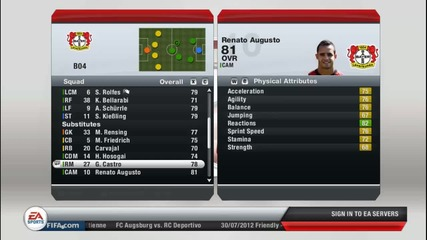 Fifa 13 - Career Manager Bayer 04 S1ep1