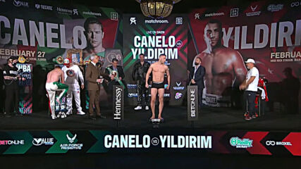 USA: Defending Alvarez, challenging Yildirim have exact same weight before championship bout