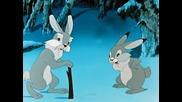 Руска анимация. Храбрый заяц Hq