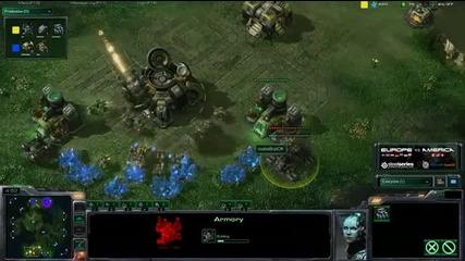 Bratok vs Slush - Game 2 - Tvz - America vs Europe - Lost Te