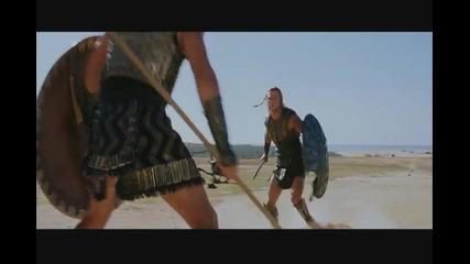 """Ахил срещу Хектор - битката Откъс от """" Троя """""""