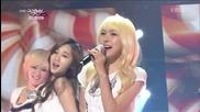 (hd) Hello Venus - Romantic Love ~ Music Bank (08.02.2013)
