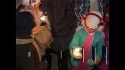 Жителите на Велико Търново посрещнаха Нова година под открито небе